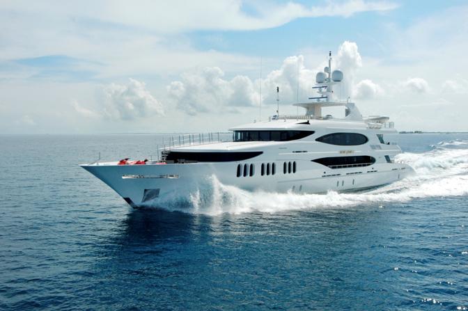 最豪华的私人游艇